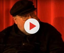 George R. R. Martin at 2013 'Game of Thrones' panel. - [Image via Nick, YouTube screencap]