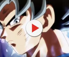 Son Goku activating Ultra Instinct for the first time. [Image via Rawaz/YouTube screencap]