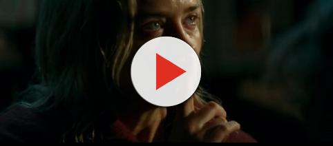 Emily Blunt stars in 'A Quiet Place.' [Image Source: Paramount Pictures/YouTube screencap]