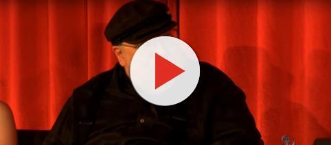 George R. R. Martin at 2013 'Game of Thrones' panel. - [Image via Nick, YouTube screencap]