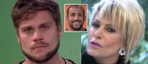 Ana Maria Braga entrevistou Breno, que explicou que Kaysar teria um suposto segredo.