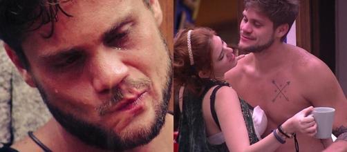 Breno chora ao conversar com Lucas e fala sobre Ana Clara
