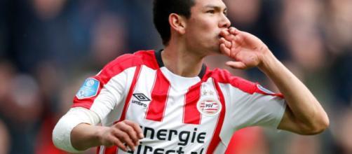 El gran goleador que tiene el PSV Eindhoven es mexicano.