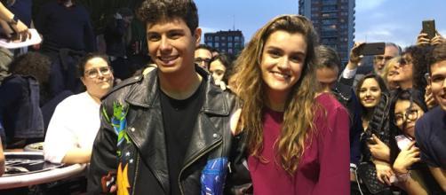 Eurovisión 2018 - Amaia y Alfred llegan a la alfombra roja de la ... - rtve.es