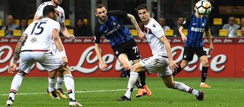 Il gol di Marcelo Brozovic al Cagliari