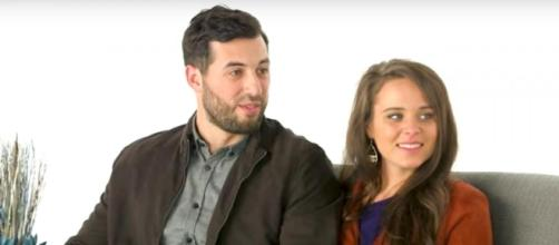 Jinger Duggar Vuolo and Jeremy Vuolo from screenshot