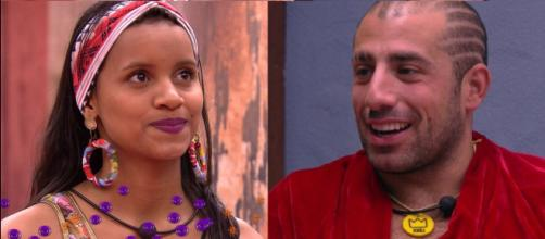 Kaysar e Gleici na final no BBB18