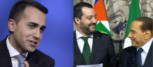 Luigi Di Maio, Matteo Salvini e Silvio Berlusconi: prove tecniche di 'non governo'