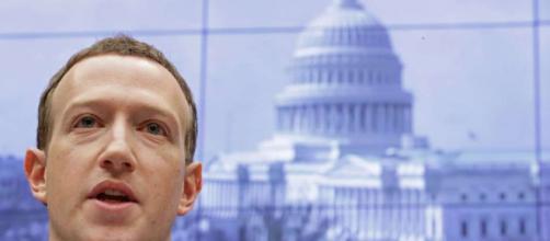 Mark Zuckerberg ante el Congreso de EUA.