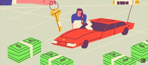 Money greatly influences people's perspective in life. Here's how to change that relationship for the better. [Image source: TEDEd/YouTube]
