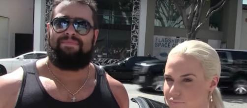 Rusev is now back in the Casket Match against The Undertaker for WWE's 'Greatest Royal Rumble' this month. [Image via TMZ Sports/YouTube]