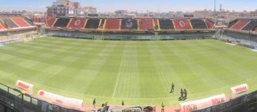 Una panoramica dello stadio Zaccheria di Foggia