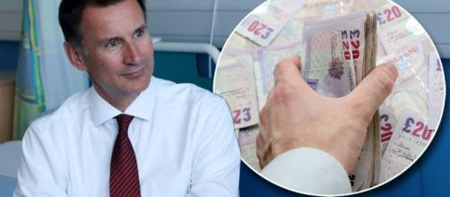 Will tax rise 1p for the NHS? Top Tory Jeremy Hunt signals he ... - mirror.co.uk
