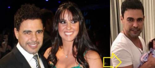 Zezé di Camargo e Graciele apresentam sua 'filha'