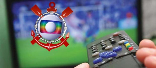 A emissora é acusada de apoiar o Corinthians