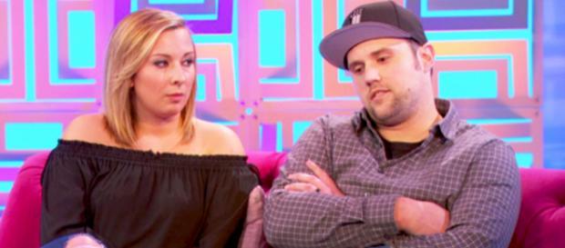Mackenzie Standifer and Ryan Edwards at the 'Teen Mom OG' reunion. [Photo via MTV/YouTube]