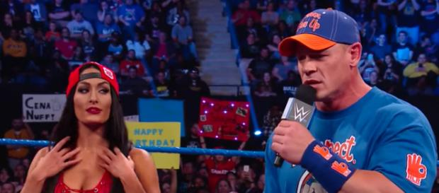 Nikki Bella was the one who called off her engagement to John Cena, a source told PEOPLE. [Image via WWE/YouTube]