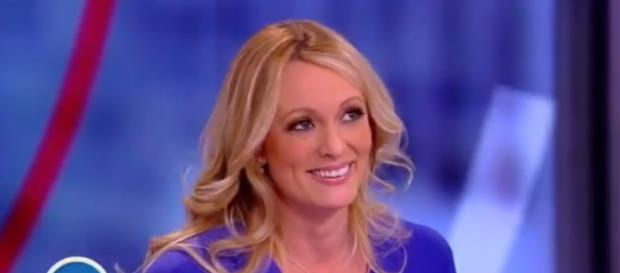 "Stormy Daniels on ""The View,"" via Twitter"