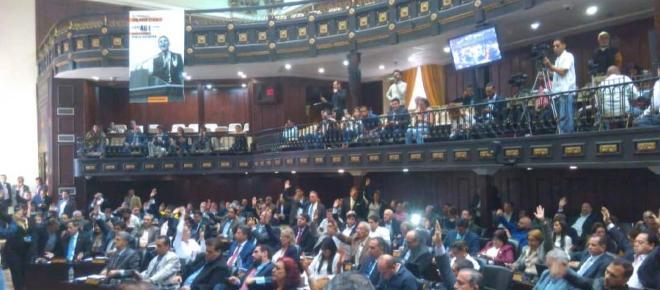 El Parlamento venezolano aprueba antejuicio de mérito contra Maduro