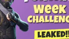 'Fortnite' Battle Pass season 3, week 9 challenges leaked online