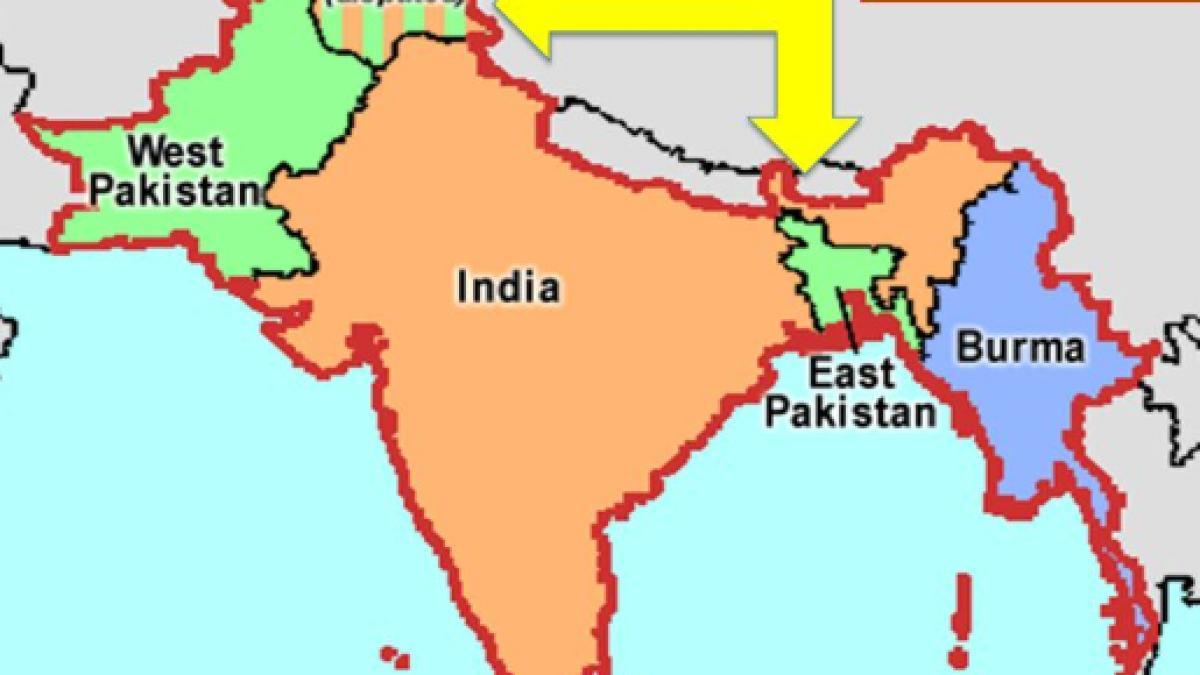 Cartina India Pakistan.Alla Scoperta Della Linea Radcliffe Il Solo Confine Visibile Dallo Spazio
