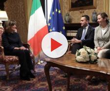 Da sinistra a destra: Elisabetta Casellati, Luigi Di Maio, Giulia Grillo e Danilo Toninelli