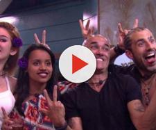 Kaysar, Gleici e Família Lima no BBB18. (foto reprodução).