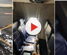 Scoppia il motore di un aereo, a bordo 143 persone