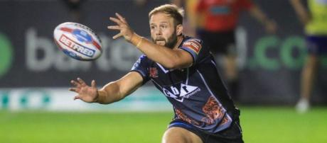 Paul McShane has become one of Castleford's most important players since joining in 2015. Image Source - expressandstar.com