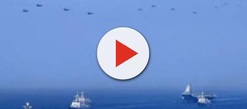 Chinese war drills- Photo-( image credit Chinese morning post/Youtube.com)