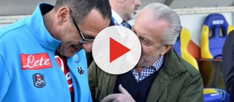 Napoli Sarri De Laurentiis - today.it