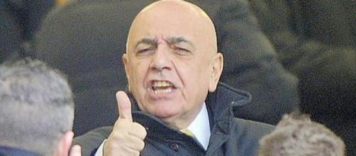 Adriano Galliani, ex ad del Milan