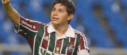 Diretor e técnico negam possibilidade de retorno de Dario Conca ao Fluminense (Foto: Gazeta Esportiva)