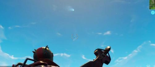 El cometa en 'Fortnite: Battle Royale.