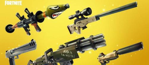 Fortnite Battle Royale estrena nuevas armas