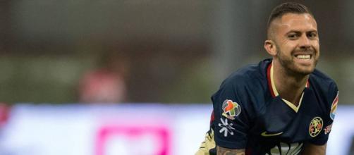 Jérémy Ménez volvió a resentirse de su lesión esta mañana en la práctica.