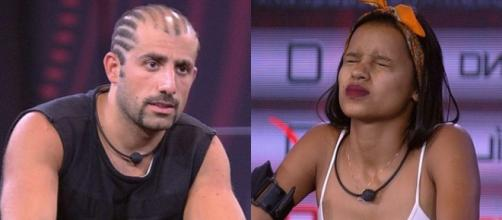 Kaysar e Gleici favoritos do BBB18