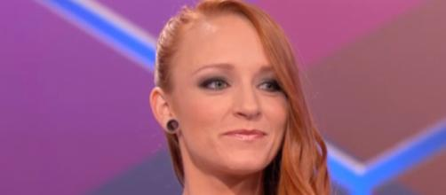Maci Bookout appears on the 'Teen Mom OG' reunion. [Photo via MTV/YouTube]