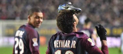 Neymar parece estar de saída do PSG. (foto reprodução).