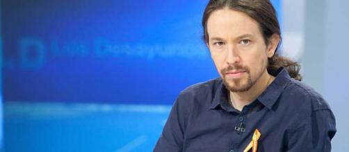 Pablo Iglesias, secretario general de Podemos. Public Domain.