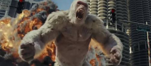 Rampage: tráiler, sinopsis y fecha de estreno de la nueva película ... - peru.com