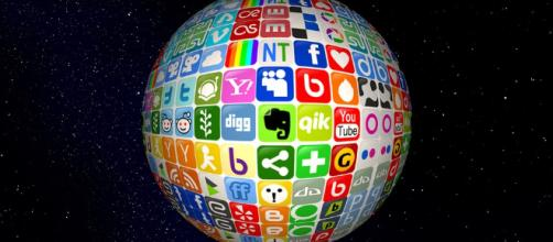The social media world. - [image via pixabay]