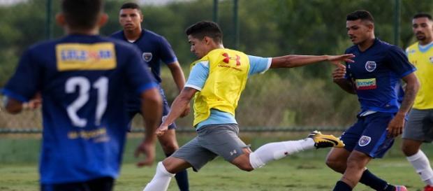 Fluminense goleia em jogo-treino nesta terça (Foto: Reprodução Net Flu)
