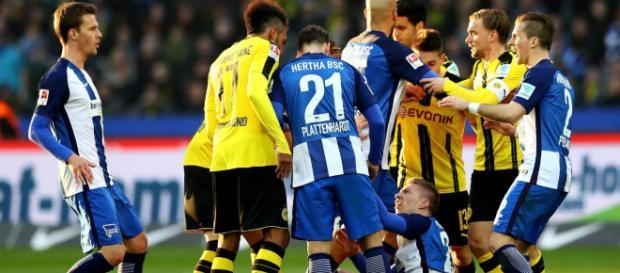 Mitchell Weiser: Peinliche Schauspiel-Einlage bei Hertha vs. BVB ... - welt.de