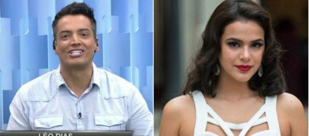 O jornalista se irritou pelo fato da atriz ter se negado a conversar com a reportagem do programa