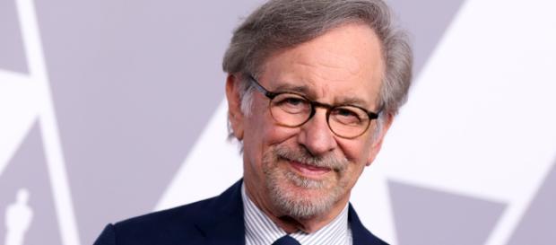 Steven Spielberg to direct upcoming hero movie, 'Blackhawk.' [image source: ET - Youtube]
