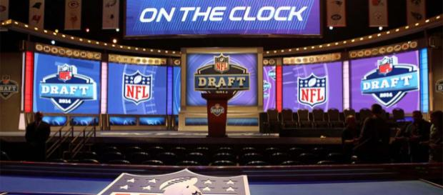 The 2018 NFL Draft is 8 days away. [Image via USA Today Sports/YouTube]
