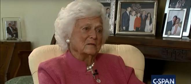 Barbara Bush endures as emblem of family legacy of humanity, humor, and helping