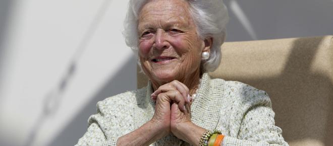 Muere Barbara Bush, la ex primera dama estadounidense