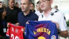 El club chino que ha elegido a Iniesta para salir del Barcelona.